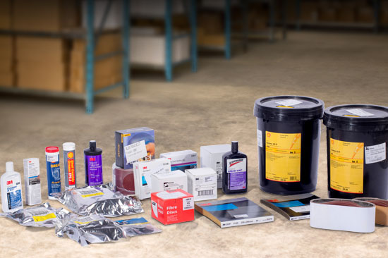 Abrasives, Lubricants, Oils & Marine